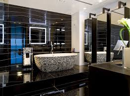 spa bathroom design ideas black and white design and ideas