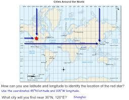 map using coordinates social studies assignments