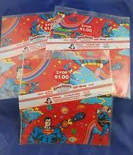 superman wrapping paper superman wrapping paper ebay