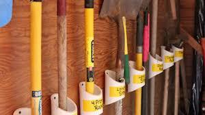diy garden tool storage ideas garden