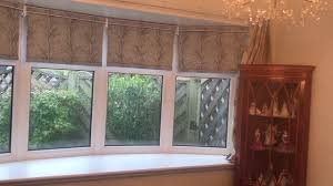motorised roller blinds for a bay window youtube