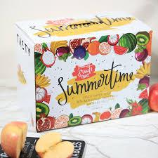 fruit boxes yilucai customized logo fruit boxes with handle factory china