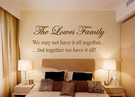 personalised family bedroom art quote wall sticker modern personalised family bedroom art quote wall sticker modern transfer uk sh192