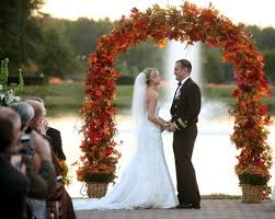 wedding arch leaves best 25 fall wedding arches ideas on outdoor wedding