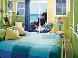 Awesome Blue Green Bedroom Contemporary Amazing Home Design - Green bedroom color