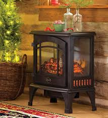 electric panoramic quartz infrared stove heater goes anywhere and plugs in for instant warmth three clear sides make the fire visible from any angle