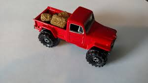 matchbox jeep 2016 3inchdiecastbliss custom jeep willy u0027s 4x4 with hay bales