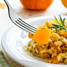 cuisiner le petit eautre risotto de petit épeautre aux châtaignes au potiron recette par