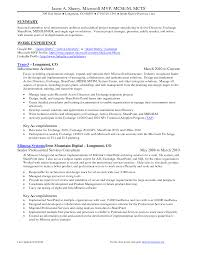 exle skills for resume sharepoint project manager resume resume for study