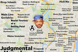 Philadelphia Pa Map This Philadelphia Map Will Offend Pretty Much Everyone Curbed Philly