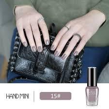 handmini 7ml nail polish matte glue peel off liquid professional