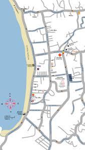 Phuket Map Thaweewong Road Map In Patong Phuket Thailand