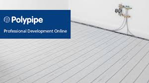 Underfloor Heating For Laminate Flooring Polypipe Underfloor Heating How Underfloor Heating Works Youtube
