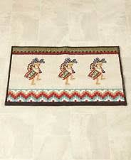 Aztec Kitchen Rug Veratex 736425620188 20 In Santa Fe Bath Rug Rust Ebay