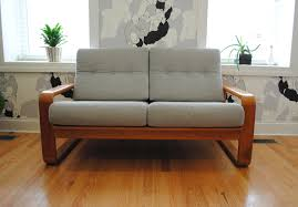 Modern Loveseat Sofa Modern Teak Sofa Loveseat Phylum Furniture