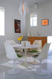 phenomenal cb2 tulip table decorating ideas images in dining room