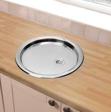 the original design of round stainless steel bathroom sink