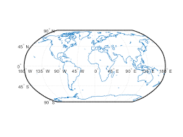 world map image drawing construct map axes for given region of world matlab worldmap