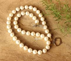 necklace elegant images Elegant pearl golden dragon fly necklace set online in india azilaa jpg