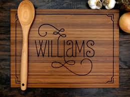 personalized cutting board personalized cutting board bridal shower gift monogram chopping