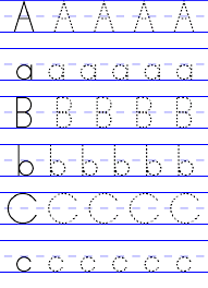 free abc worksheets for pre k printable as educational props in