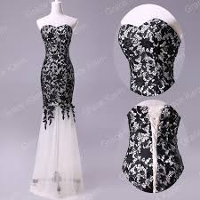 details about new black lace prom ball cocktail party wedding