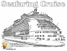 stupendous cruise ship coloring pages free ship coloring pages