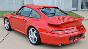 turbo porsche red 1996 porsche 993 turbo