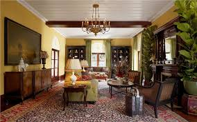 Elegant Living Room Home Design Ideas - Colonial living room design