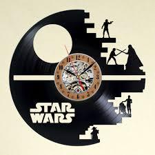 Star Wars Office Decor Vinyl Wall Clock