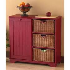 Wooden Kitchen Garbage Cans by Kitchen Island With Trash Storage Top Barn Style Farm Style