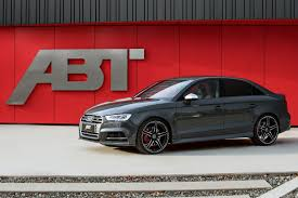 audi rs3 mods 2017 audi s3 by abt can keep up with the rs3 sedan autoevolution