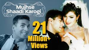film comedy on youtube mujhse shaadi karogi 2004 salman khan priyanka chopra akshay