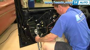 how to install repair replace power window regulator honda accord