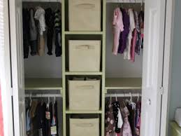 nursery closet with built in changing table baby nursery