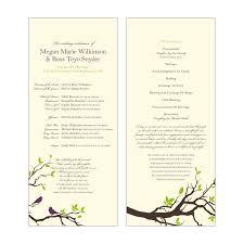 wedding program catholic free catholic wedding program templates catholic wedding program