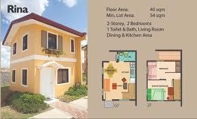 Camella Homes Drina Floor Plan Rina House Camella U2013 Cavite House Rfo