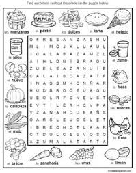 6 puzzle packet with full size answer keys food nature people