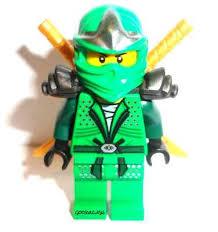 Lego Ninjago Halloween Costumes Lego Ninjago Lloyd Zx Green Ninja Minifigure 2 Golden Swords