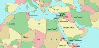 arab countries map arab what s happening now