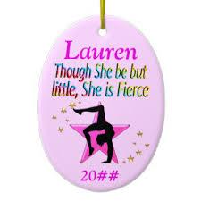 gymnast ornaments keepsake ornaments zazzle