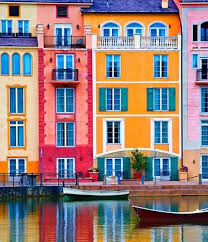colorful building 18 cool color blocked buildings via brit co color in