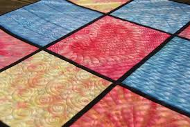 free motion background quilting for halloween quilts quilt art by olena pugachova