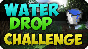 Challenge Water Drop Minecraft Water Drop 200 Bloques Fail Waterdropfail