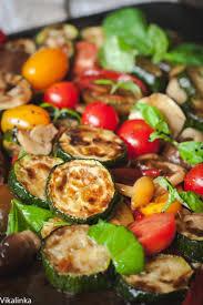 cold salads warm zucchini salad vikalinka