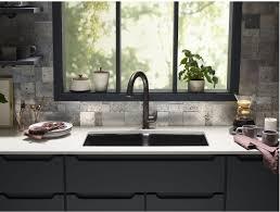 touchless kitchen faucet 5 questions faucet k 72218 2bz in rubbed bronze 2bz by kohler