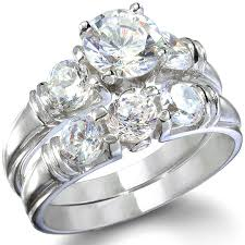 ring diamond wedding 24k wedding ring set urlifein pixels