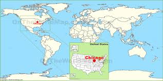 Map Metro Chicago by Where Is Chicago Located Chicago Location In Us Map Chicago On A