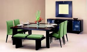 black modern dining room sets contemporary dining room sets with 1 black solid wood table and 4