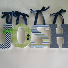 Nursery Wall Decor Letters Wood Letter Wall Decor Awesome Wooden Wall Letters Baby Boy